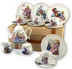 Alice in Wonderland Tea Set lg
