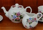 Sweet Pea Tea Set for 4