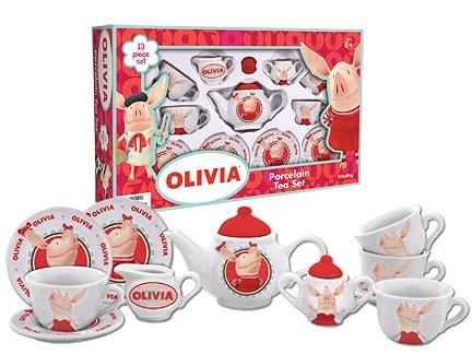Olivia Porcelain Tea Set  sc 1 st  Childrenu0027s Tea Sets & Olivia the Pig