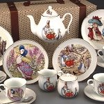 Beatrix Potter Childs Tea Set Mixed