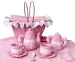 Soft Fabric Childs Tea Set