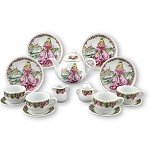 Princess Tea Set for 4 window box
