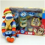 Sock Monkey Gift Set